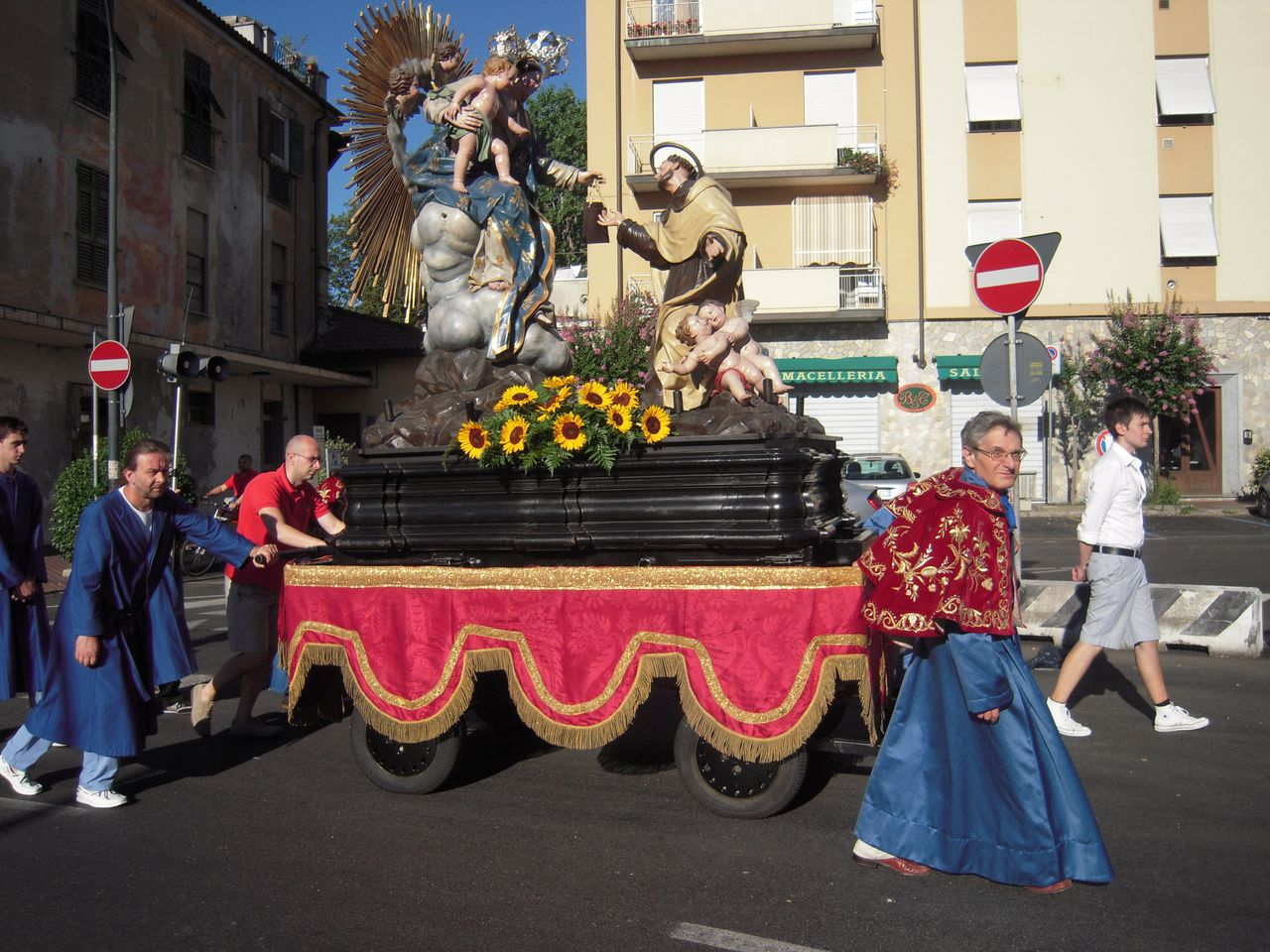Festa del Carmine all'Oratorio dell'Annunziata di Ovada