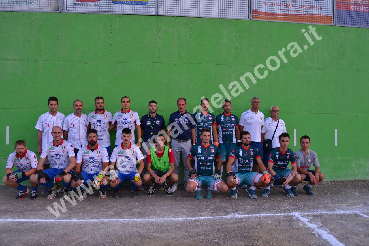 Pallapugno Castagnole Araldica - Bre banca Cuneo 11-4