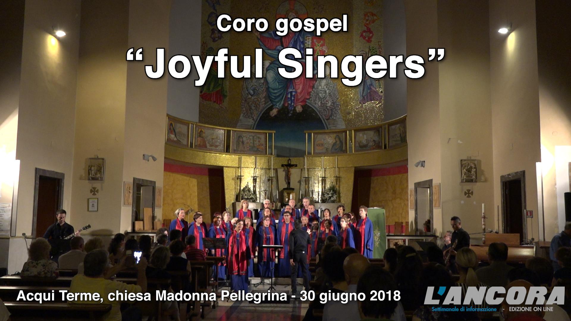 "Coro gospel ""Joyful Singers"" (VIDEO)"