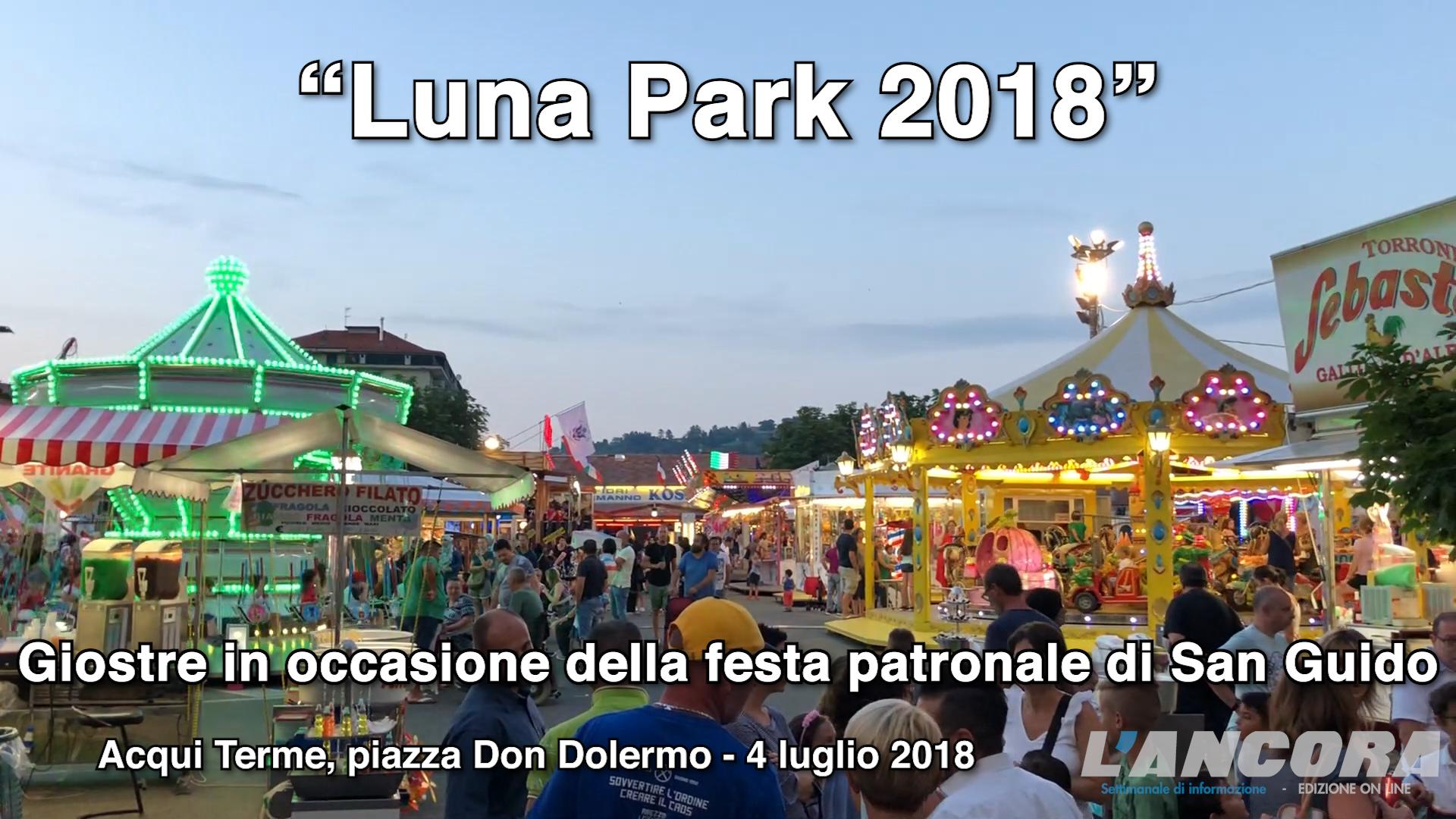 Luna Park in occasione della festa patronale di San Guido (VIDEO)
