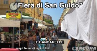 Acqui Terme - Fiera di San Guido, le bancarelle in città (video)