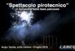 Spettacolo pirotecnico in occasione della festa patronale (VIDEO)