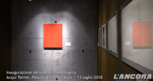 """Inaugurazione XLVII Mostra antologica """"Lucio Fontana"""" (VIDEO)"""