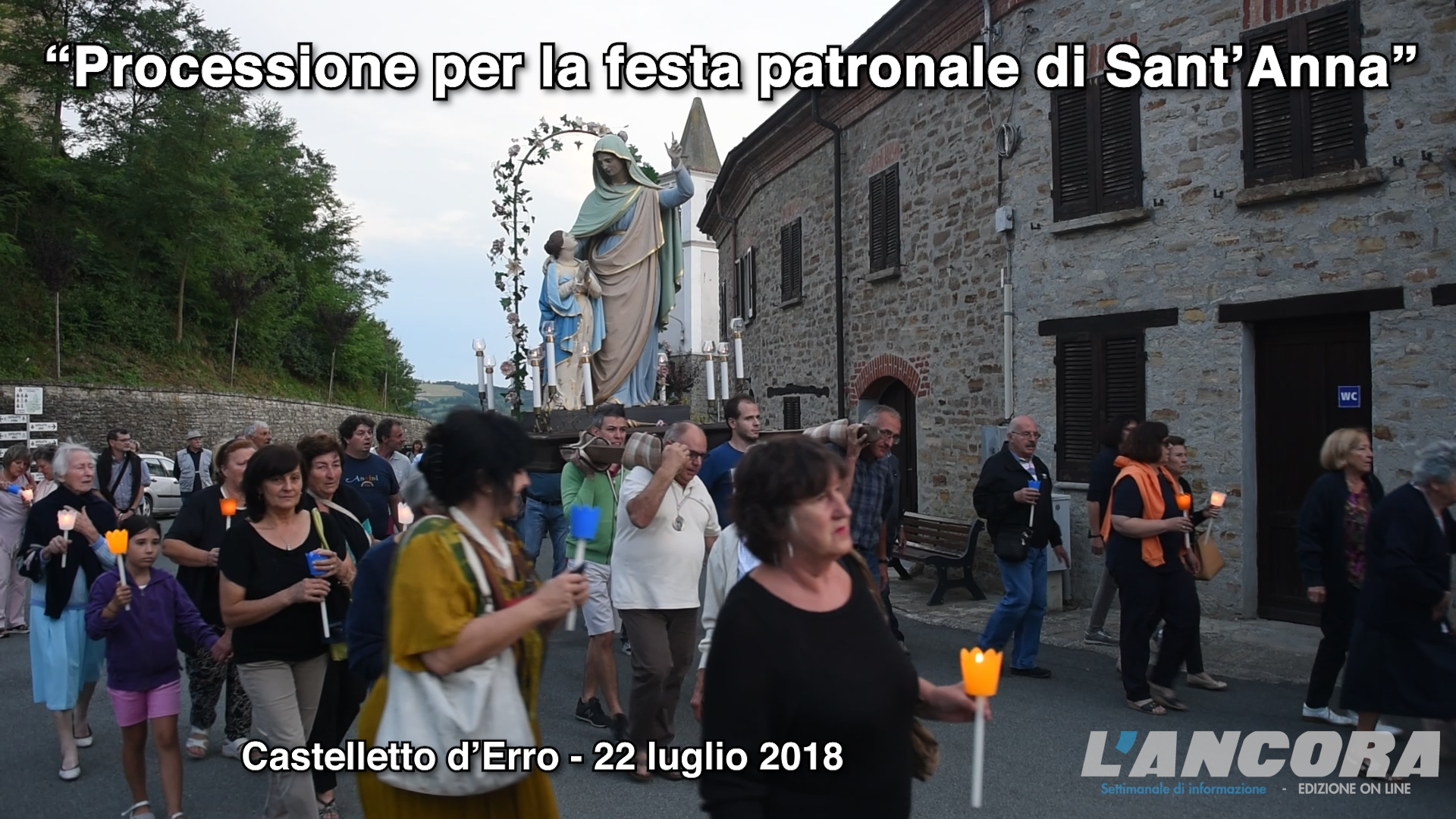 Photo of Festa patronale di Sant'Anna (VIDEO)