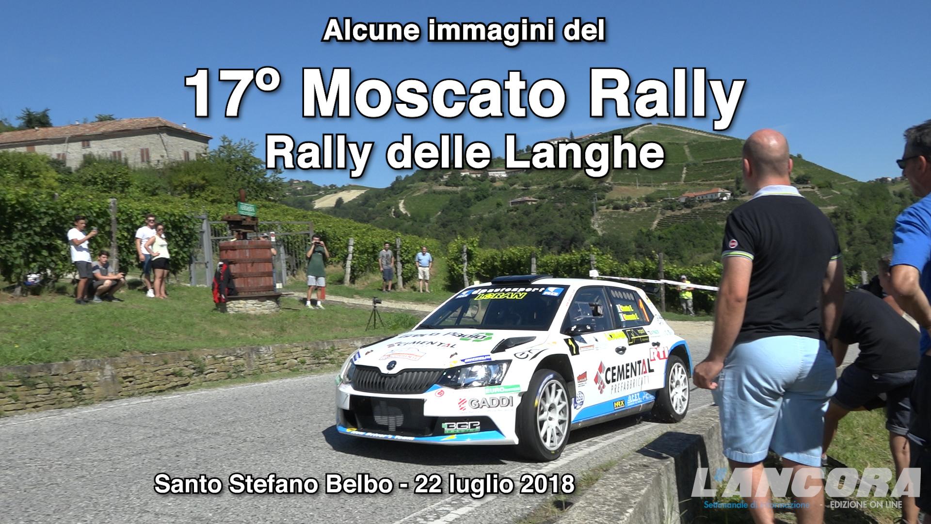 Santo Stefano Belbo - Moscato Rally, alcune immagini (VIDEO)