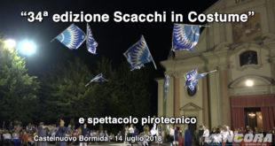 Castelnuovo Bormida - 34ª edizione Scacchi in costume (VIDEO)