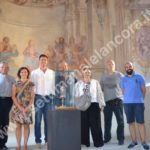 """Cortemilia nella chiesa della Santissima Trinità inaugurati i restaurati """"I Giudei"""""""