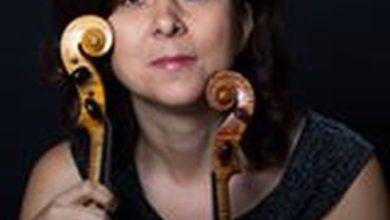 la violinista Manuela Matis