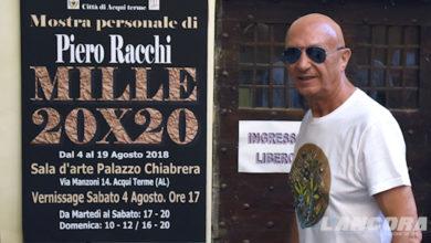 """Mostra di Piero Racchi """"Mille 20X20"""""""