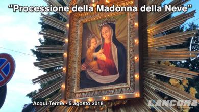 Acqui Terme - Processione della Madonna della Neve 2018