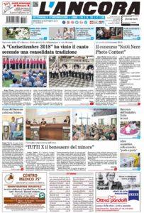 prima pagina n.35/2018