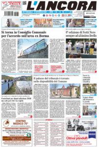 Prima pagina del N°36 del 30 settembre 2018