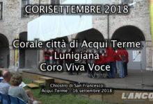 Acqui Terme - Corisettembre 2018 (Video)