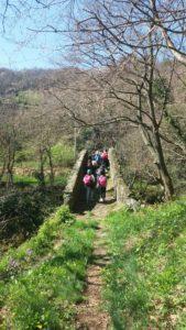 uscita didattica nel Parco del Beigua