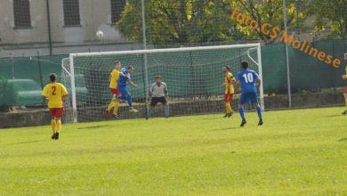 Calcio 2ªcat. Molinese - Pro Molare