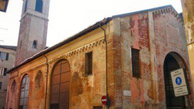 Ovada, la Loggia di San Sebastiano
