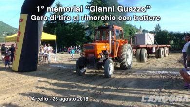 """1° memorial """"Gianni Guazzo"""", gara di tiro al rimorchio con trattore"""
