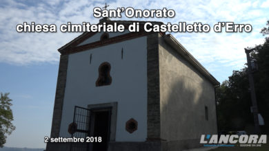 Photo of Sant'Onorato, chiesa cimiteriale di Castelletto d'Erro (VIDEO)