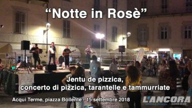 Photo of Acqui Terme – Notte Rosè – La Tarantella in piazza Bollente (VIDEO)