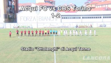 Acqui FC vs CBS Torino 2-1