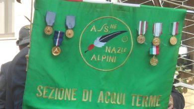 Gli Alpini della Sezione di Acqui Terme a Vercelli
