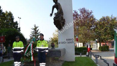 Bubbio, 50º del monumento ai caduti