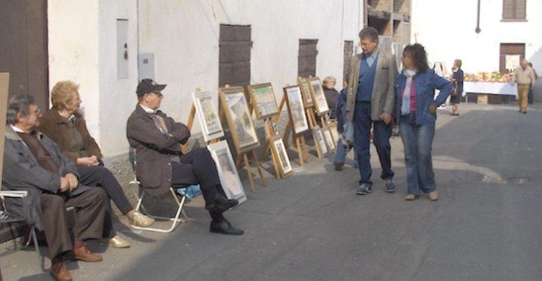 Bergamasco, mostra pittura estemporanea