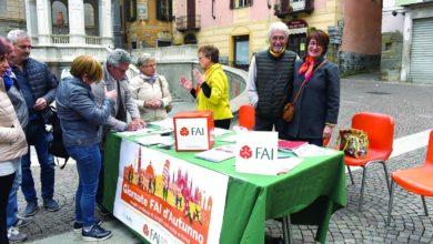 Giornate Fai-assessore Giannetto in piazza Bollente
