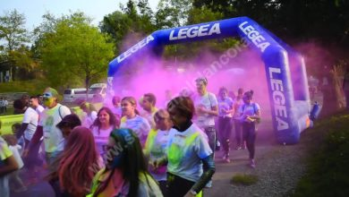 Holi splash run, corsa di beneficenza