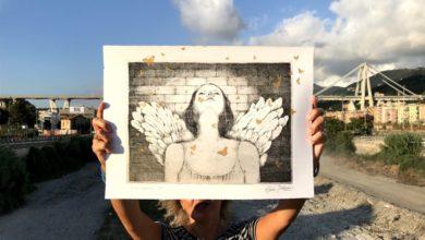 Photo of Mele: mostra di Rossella Baldecchi e omaggio al Ponte Morandi