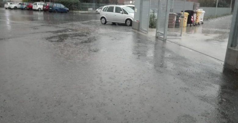 Ad Acqui Terme, Coi piedi nell'acqua per andare a scuola