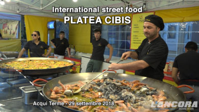 Acqui Terme - Street food - Platea Cibis 2018 (VIDEO)