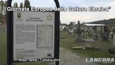 Acqui Terme - Giornata Europea della Cultura Ebraica (VIDEO)