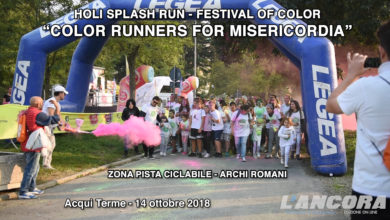 """Photo of Acqui Terme – """"COLOR RUNNERS FOR MISERICORDIA"""" (VIDEO)"""