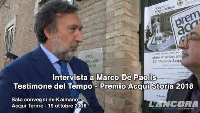 Intervista a Marco De Paolis Testimone del Tempo Premio Acqui Storia 2018