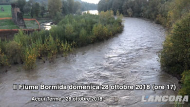 Acqui Terme - Il fiume Bormida (VIDEO)