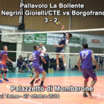 SERIE C Negrini Gioielli/CTE vs Borgofranco Volley 3 - 2 (VIDEO)
