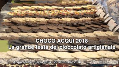 Choco Acqui – La grande festa del cioccolato artigianale