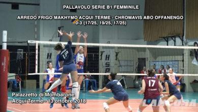 Acqui Terme - Pallavolo Acqui serie B1 femminile (VIDEO)