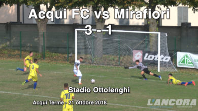 Sport- Acqui FC vs Mirafiori 3 - 1