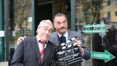 Il film con Silvestri (Totò) e Travaini (Fabrizi) girato all'interno dl Caffè Trieste ad Ovada