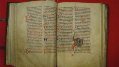antico codice liturgico
