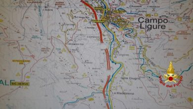 cartina campo ligure