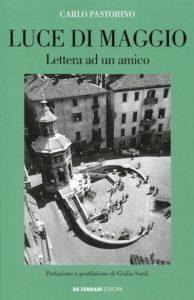 """copertina del libro """"Luce di maggio"""""""