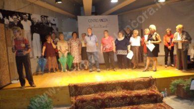 Gli attori del Centro Amicizia Anziani in scena allo Splendor