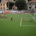 Calcio Eccellenza: La Cairese, in dieci, espugna Finale Ligure