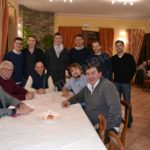 Pallapugno Cortemilia-cena a Perletto con Marchiso