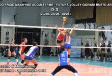 Arredo Frigo Makhymo Acqui Terme - Futura Volley Giovani Busto Arsizio (VIDEO)
