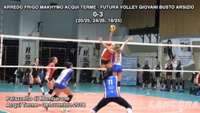 Photo of Arredo Frigo Makhymo Acqui Terme – Futura Volley Giovani Busto Arsizio (VIDEO)