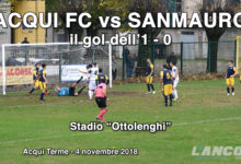 video - 2018-11-04_Acqui calcio -Sanmauro